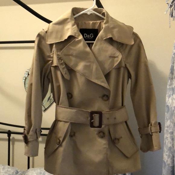 4d8ee646d7 Dolce & Gabbana Jackets & Blazers - Dolce & Gabbana Trench Coat Style Jacket
